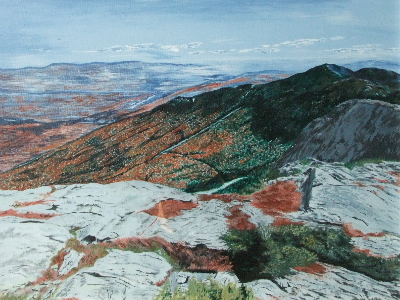 Donald's View of Mount Mansfield, Stowe
